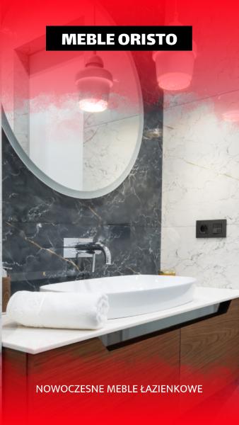 meble łazienkowe Oristo